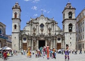 San Cristobal Cathedral Havana Cuba
